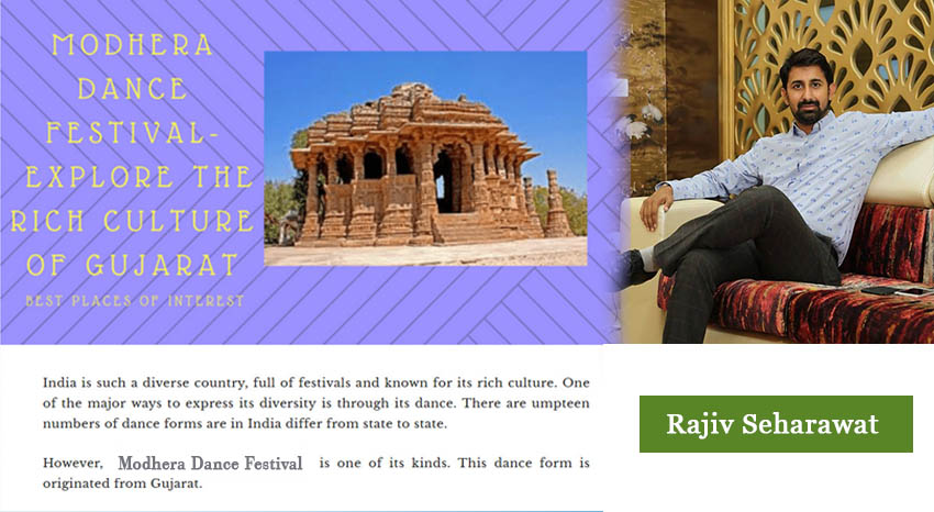MODHERA DANCE FESTIVAL - EXPLORE THE RICH CULTURE OF GUJARAT
